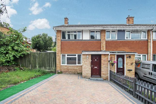 Thumbnail End terrace house for sale in Edelvale Road, West End, Southampton