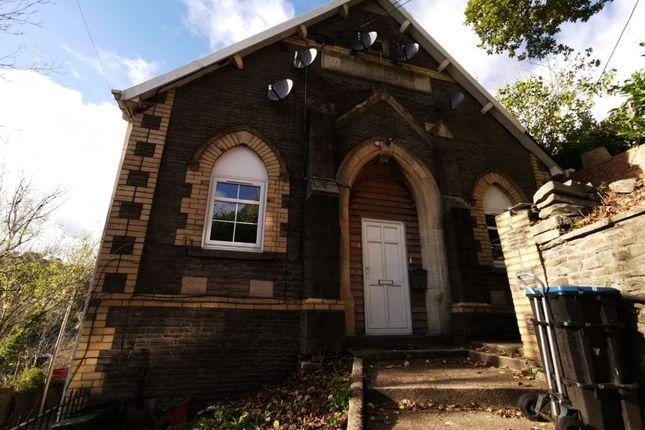 Thumbnail Flat to rent in Flat, Wesleyan Church, High Street, Llanhilleth.