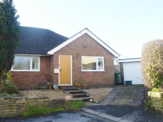 Thumbnail Semi-detached bungalow to rent in St Heliers Place, Barton, Preston