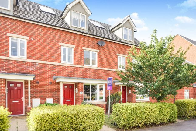 Thumbnail Town house for sale in Angell Drive, Market Harborough