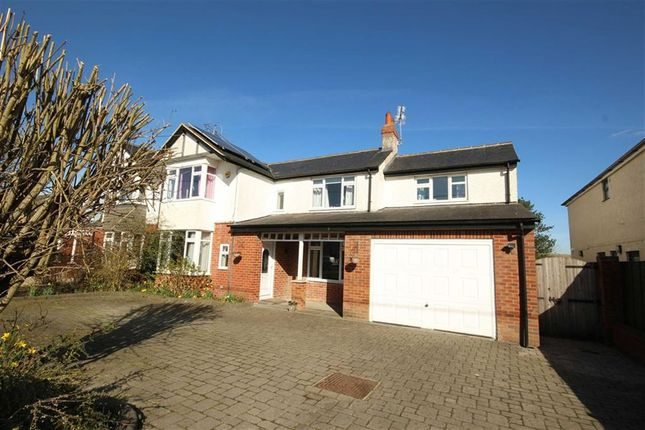 Thumbnail Semi-detached house to rent in Draycott Road, Chiseldon, Swindon Wiltshire