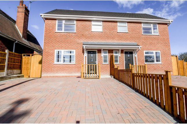Thumbnail Semi-detached house for sale in Mason Street, Bilston