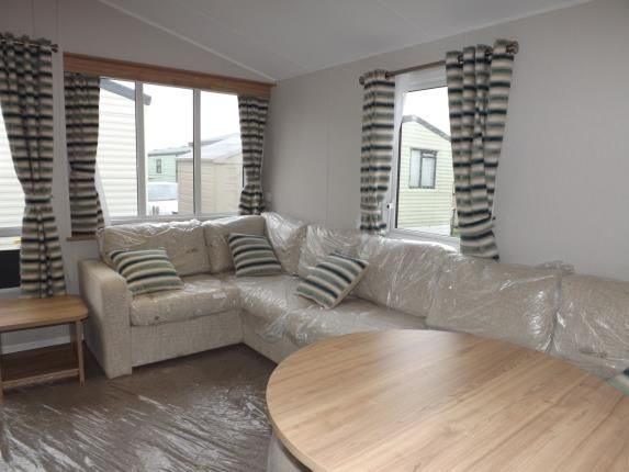 Living Room of Caravan Park, Acre Moss Lane, Morecambe LA4