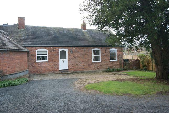 Thumbnail Bungalow to rent in Oldwood Road, Tenbury Wells