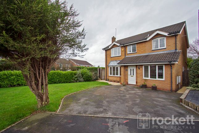 Thumbnail Detached house to rent in Sterndale Drive, Clayton, Newcastle-Under-Lyme