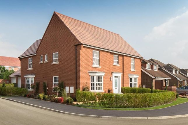 "Thumbnail Detached house for sale in ""Henley"" at Torry Orchard, Marston Moretaine, Bedford"