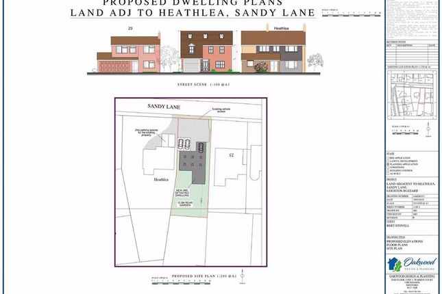 Thumbnail Land for sale in Sandy Lane, Heath And Reach, Leighton Buzzard