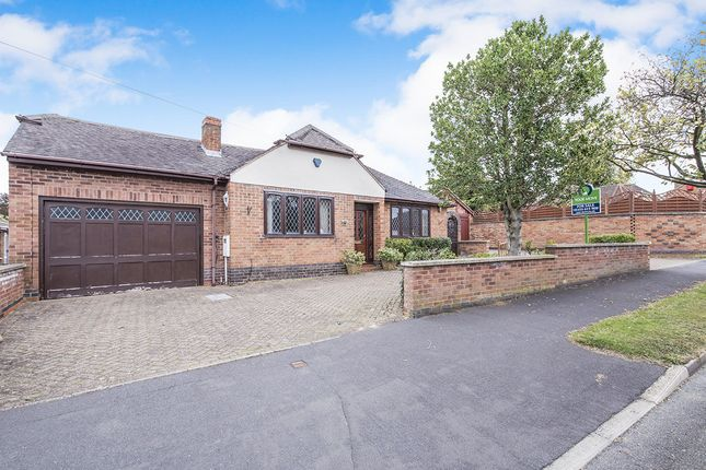 Thumbnail Bungalow for sale in Hall Road, Burbage, Hinckley
