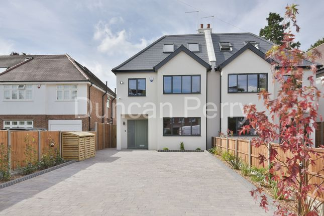 Thumbnail Semi-detached house for sale in Pine Grove, Brookmans Park, Herts
