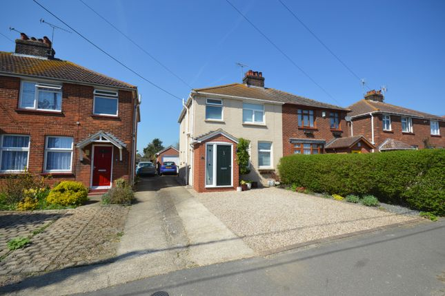 Thumbnail Semi-detached house for sale in Cross Road, Witham