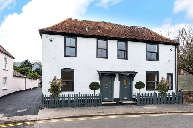 Thumbnail Semi-detached house for sale in Angel Cottage 1, Church Road, Shepperton, Surrey