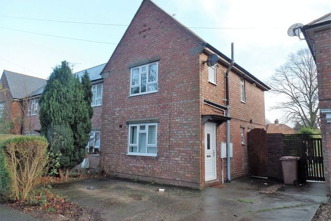 3 bed semi-detached house to rent in Browning Drive, Lincoln