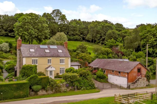Thumbnail Detached house for sale in Byton, Presteigne, Powys