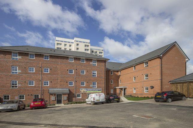 Thumbnail Flat to rent in Foxglove Walk, Newcastle Upon Tyne