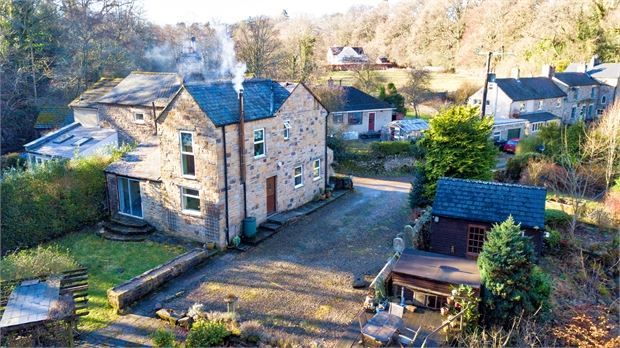 Thumbnail Semi-detached house for sale in Black Hall Mill, Steel, Hexham