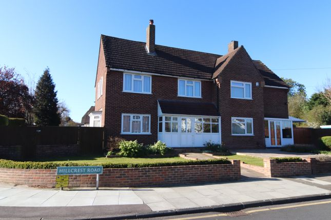 Thumbnail Semi-detached house for sale in Hillcrest Road, Orpington