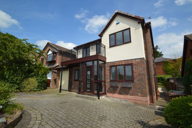 Thumbnail Detached house to rent in The Meadows, Whitefield, Manchester