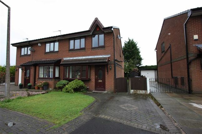 Thumbnail Semi-detached house to rent in Brent Close, Bradley Fold, Bolton