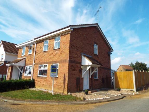 Thumbnail Semi-detached house for sale in Churchill Park, Kings Lynn, Norfolk