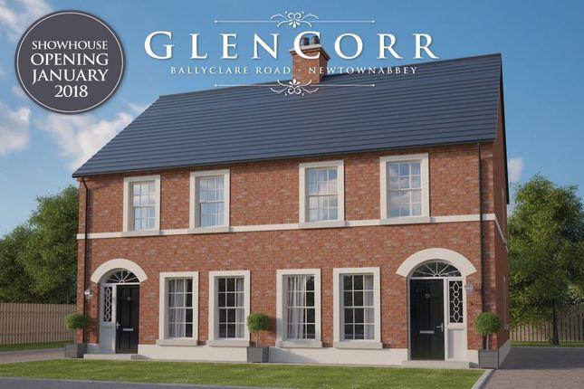 Thumbnail Semi-detached house for sale in Glen Corr Meadows, Newtownabbey