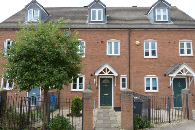 Thumbnail Town house to rent in Kinloss Drive, Kingsway, Gloucester
