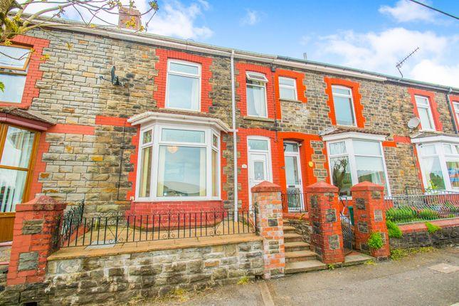 Thumbnail Terraced house for sale in Lanwern Road, Maesycoed, Pontypridd