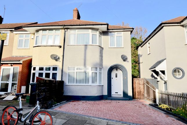 Thumbnail End terrace house to rent in Brentvale Avenue, Southall