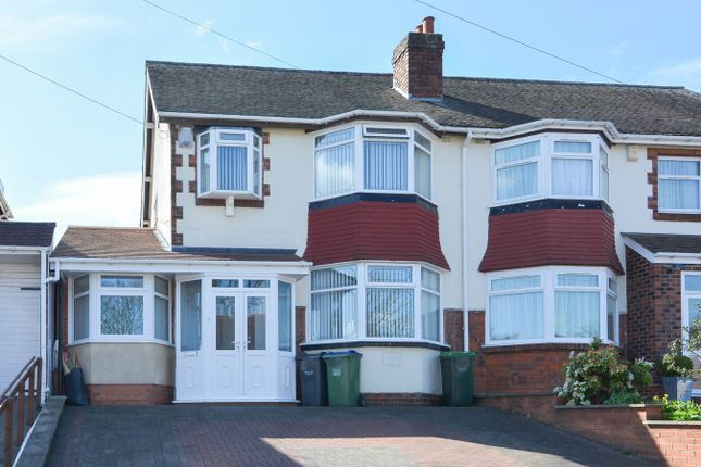 Thumbnail Semi-detached house for sale in Woodbourne Road, Bearwood
