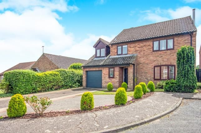 Thumbnail Detached house for sale in Ormesby Drive, Swaffham