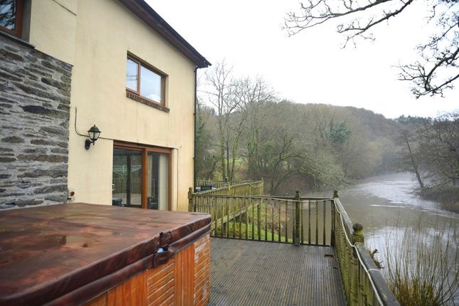 Thumbnail Detached house for sale in Cenarth, Newcastle Emlyn, Carmarthenshire