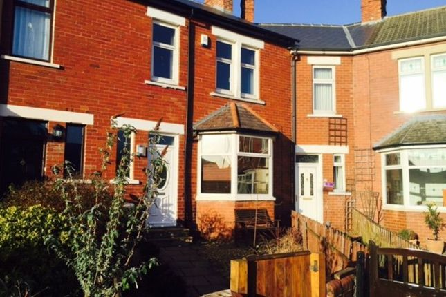 Thumbnail Terraced house to rent in Rockcliffe Avenue, Whitley Bay