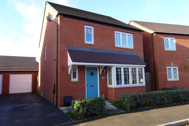 Thumbnail Detached house for sale in Mill Hill Wood Way, Ibstock, Leicestershire