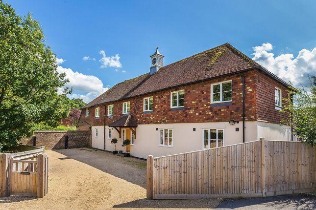 Thumbnail Farmhouse for sale in Main Road, Crockham Hill, Edenbridge
