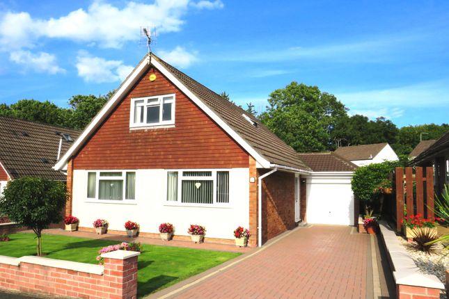 Thumbnail Detached bungalow for sale in Castle Lea, Caldicot