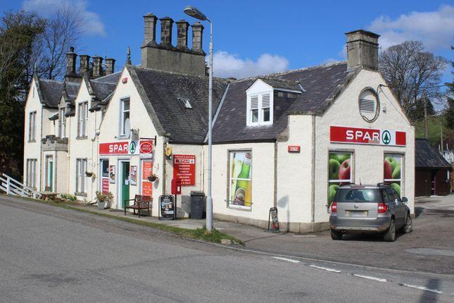 Thumbnail Retail premises for sale in Spar Shop & Post Office, Bellabeg, Strathdon, Aberdeenshire