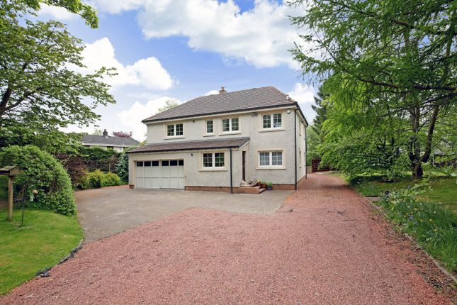 Thumbnail Detached house for sale in Medwyn Road, West Linton