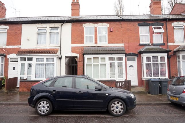 Thumbnail Terraced house for sale in Newcombe Road, Handsworth, Birmingham