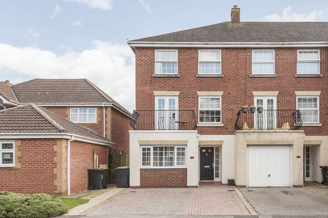 Thumbnail End terrace house for sale in Cambrian Gardens, Marshfield, Cardiff