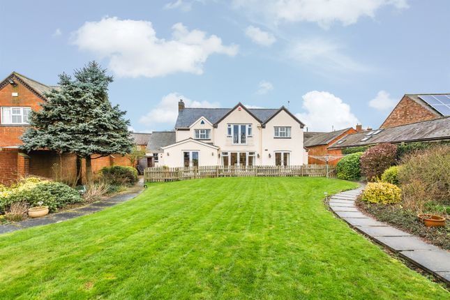 Thumbnail Detached house for sale in Main Street, Tugby, Leicester