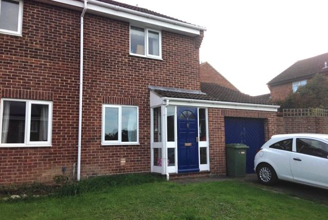 Thumbnail End terrace house to rent in Gould Close, Street