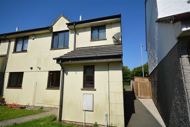 Thumbnail Semi-detached house for sale in Seneschall Park, Helston, Cornwall