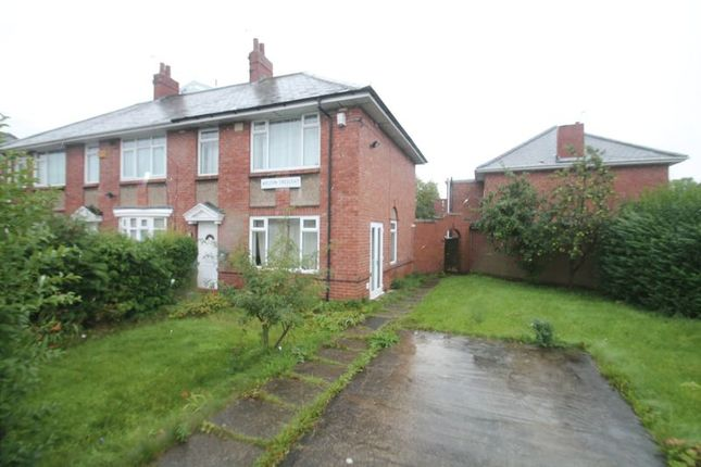 3 bed semi-detached house to rent in Weldon Crescent, High Heaton, Newcastle Upon Tyne NE7