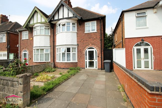 Thumbnail Semi-detached house for sale in Sybil Road, Leicester