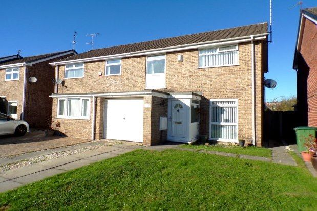 Thumbnail Semi-detached house to rent in Barfold Close, Stockport