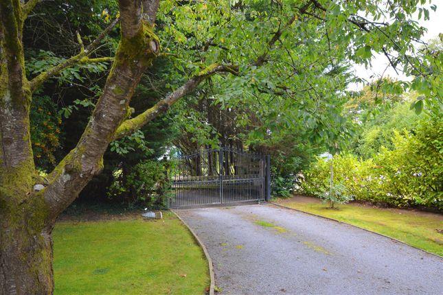 Gated Entrance of Sleep Lane, Whitchurch Village, Bristol BS14