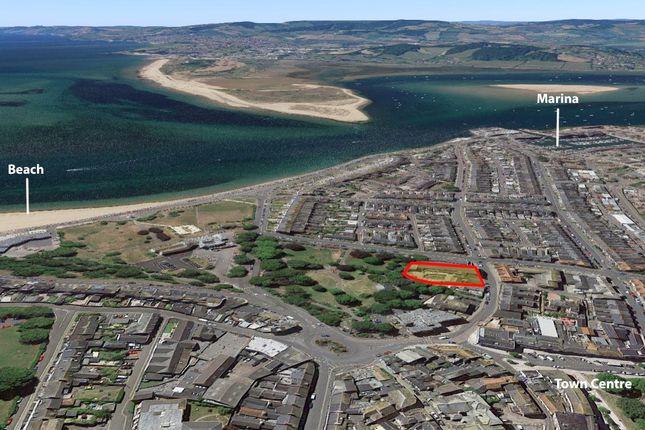 Location Aerial of Redevelopment Site, Exmouth, Devon EX8