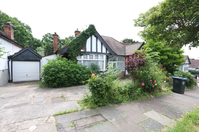 Thumbnail Detached bungalow for sale in Barn Hill, Wembley Park