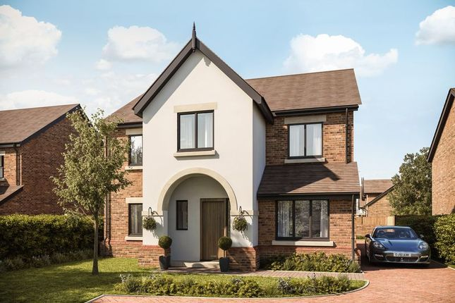 Thumbnail 4 bedroom detached house for sale in Plot 2 Gayton Chase, Gayton Road, Lower Heswall