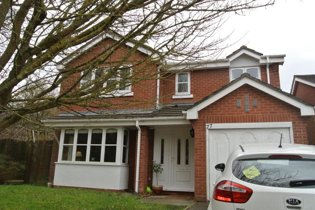Thumbnail Detached house to rent in Gainford Rise, Binley, Coventry