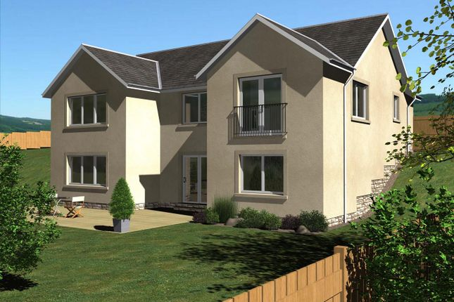 Thumbnail 4 bed detached house for sale in The Kerr, East Broomlands, Kelso